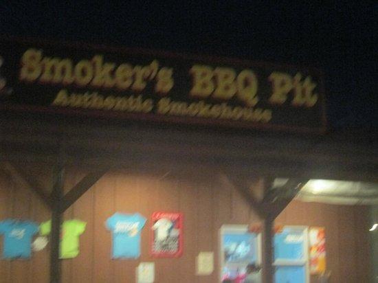 Smoker's BBQ pit YUM!