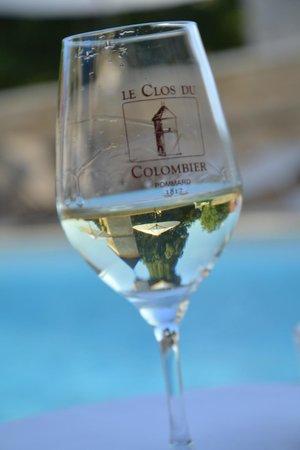 Le Clos du Colombier : Bon vin de la région !