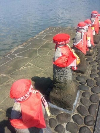 Harahoge Jizo: Low tide