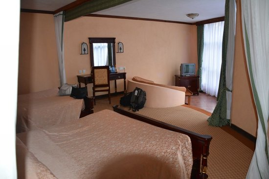 Lake Naivasha Sopa Resort: Huge Rooms