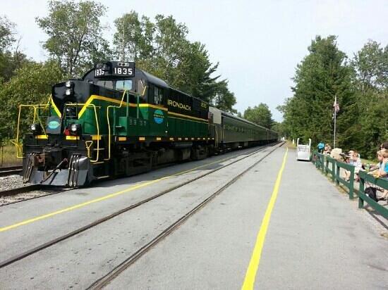 Adirondack Scenic Railroad: the transfer