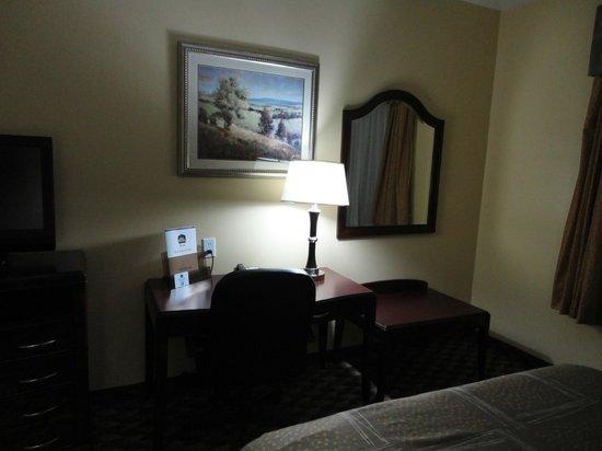 Best Western Plus Manvel Inn & Suites: Computer Desk