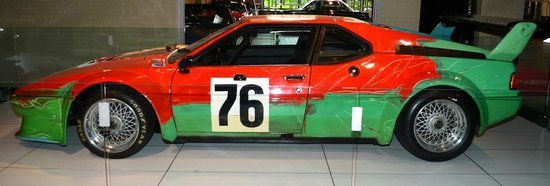 The Saratoga Automobile Museum: Andy Warhol 1979 M1