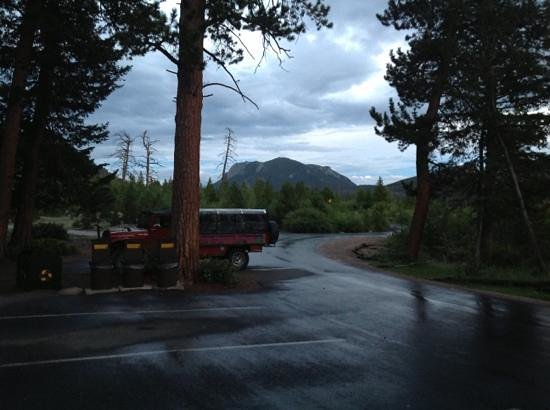 WildSide 4x4 Tours: RMNP and Rocky Mountain Rush tour truck