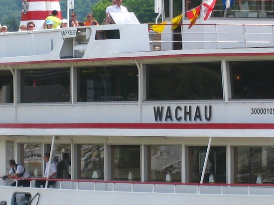 Wein & Wachau : Boat we caught from Krems to Melk