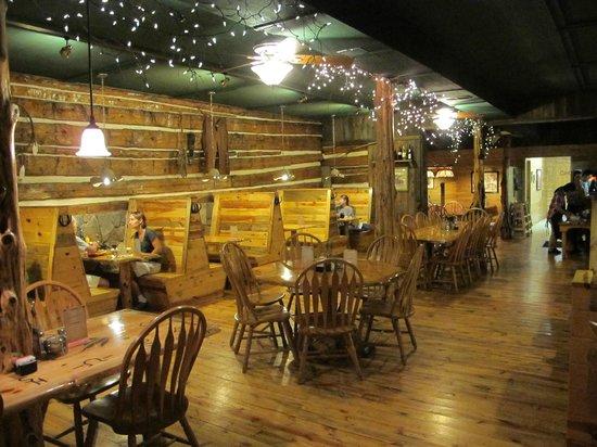 Desperados Cowboy Restaurant: INTERNO