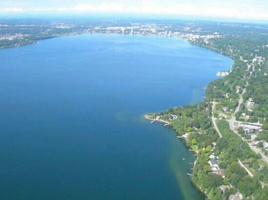 Kempenfelt Bay Looking Towards Barrie Picture Of Lake Simcoe Ontario Tripadvisor