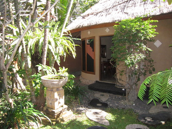 Puri Madawi: Our bungalow during our stay here