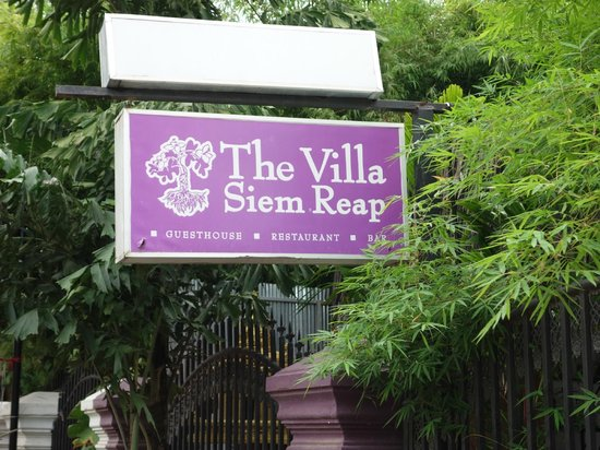 The Villa Siem Reap: 入り口