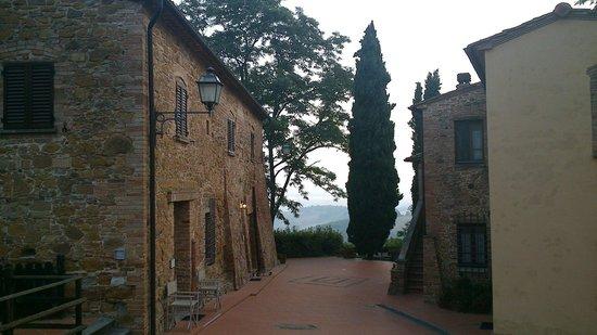 La Valle: Abgang zu den Appartements Rafaello und Donatello