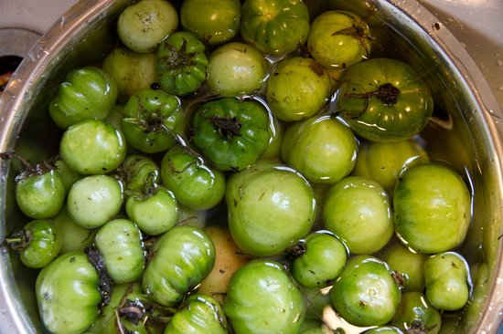 Brockley Estate: Green tomato chutney on the go