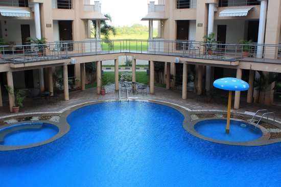 Royal Orchid Central Kireeti: View from the Pool Area