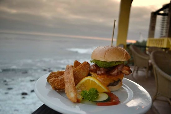 """The Point at Calafia: """"Ugly view"""" but great gourmet burgers."""