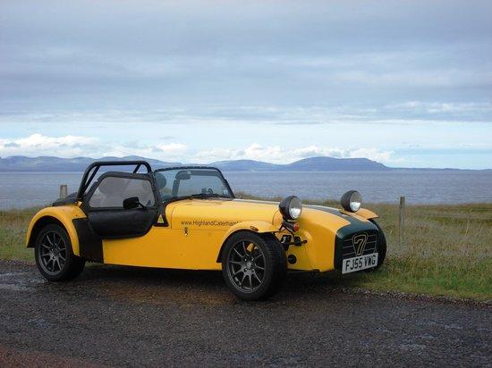 Highland Caterham Hire: Highlands long weekend Aug 2013