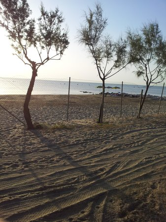 Villaggio Europa: spiaggia