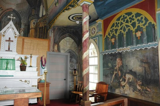 The Painted Church: Inside Painted Church