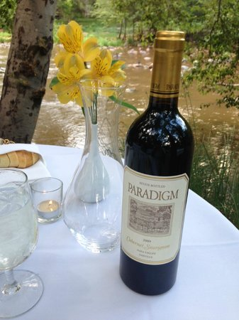 L'Auberge de Sedona: Wonderful Dinner on the Creek