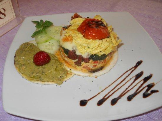 Hotel Tahiti: La colazione, only the Brave!