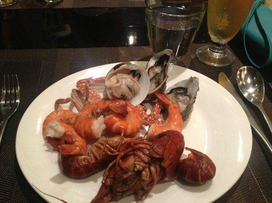 Satoo: seafood cruditè