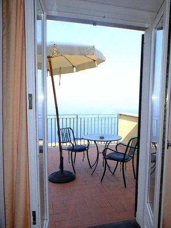 Hotel La Giada del Mesco : La terrasse ...