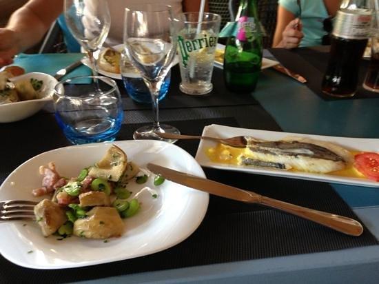 Le Pelagos : gariboule et st pierre:très bon