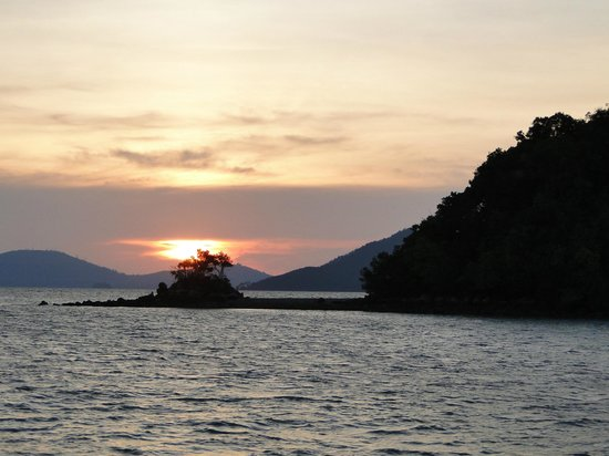 Golden Dragon,Fishing Phuket: sunset