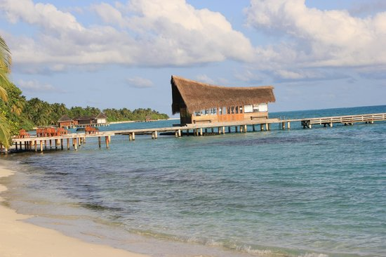 Kuramathi Island Resort : Plage
