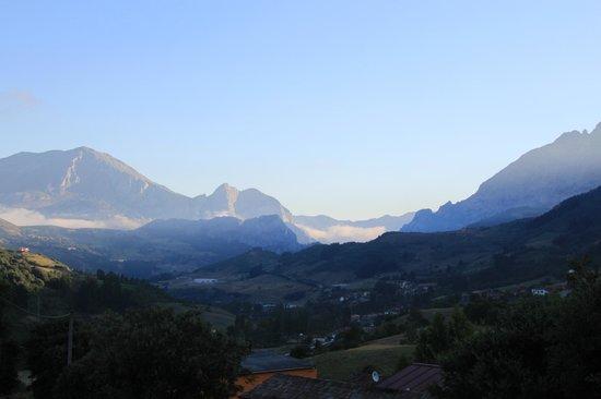 Hotel rural Haras Aritza: vue sur montagne