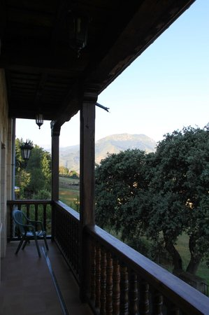Hotel rural Haras Aritza: balcon