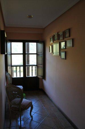 Hotel rural Haras Aritza: hall