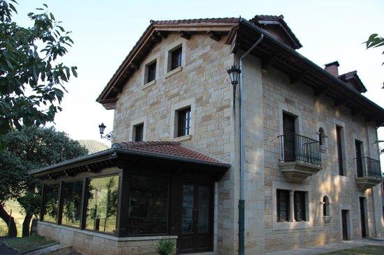 Hotel rural Haras Aritza: veranda