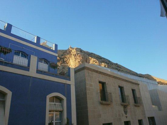 La Milagrosa Bed & Breakfast : View from balcony