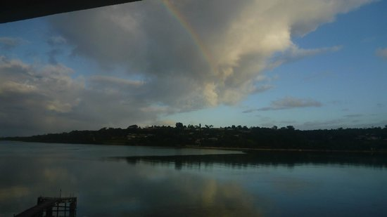 Chantilly's on the Bay: Morning Rainbow
