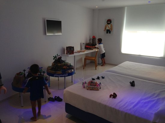 Ibi, İspanya: Habitación Playmobil