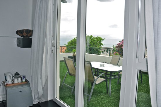The Grange Guest House: roof garden of room 6 deluxe king room