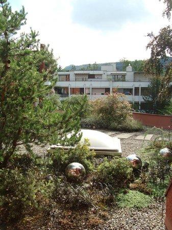 Hotel Du Parc: Dach-Terrasse vor unserem Zimmer
