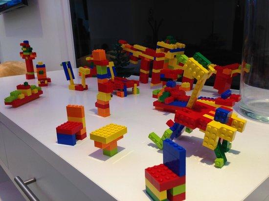 Hotel del Juguete: Lego en el Restaurante
