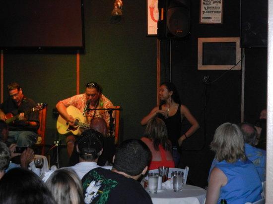 Mulligans on the Blue: Willie K. show at Mulligans