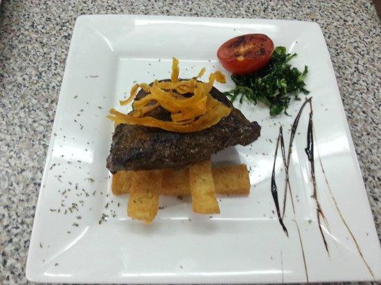 Huggy Bear Lido : Fillet steak