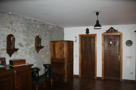 La Casa del Reloj: couloir