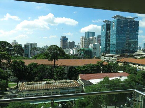 InterContinental Residences Saigon : Blick aus der Suite