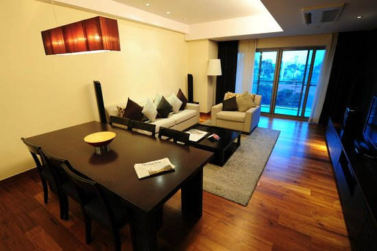 InterContinental Residences Saigon : Wohnzimmer