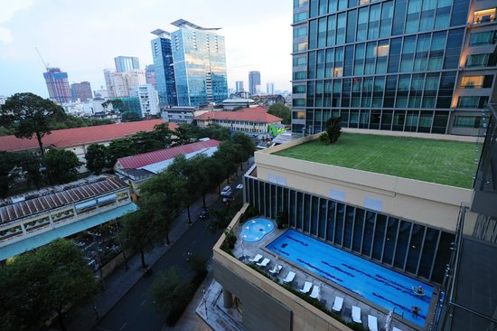 InterContinental Residences Saigon : Pool