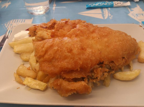 Neptune Fish & Chip: Fish&Chips from plaice