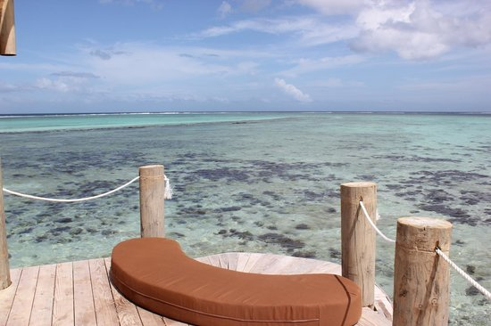 Coconuts Beach Club: View from Fale Lina