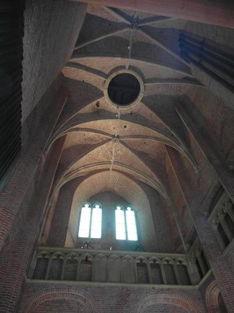 The Tower of Our Lady: Inside