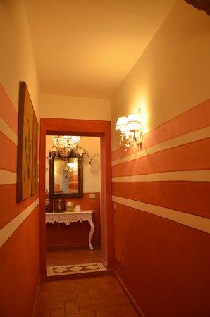 Il Nido di Anna : panoramica corridoio