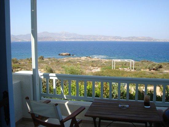 Hotel Pirgos Stelida: Η θέα από τη βεράντα