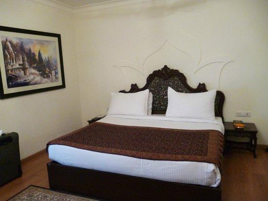 Suryauday Haveli - An Amritara Resort: Nostra stanza da letto