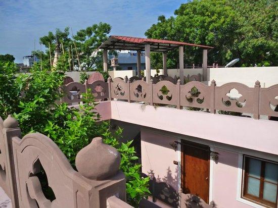 Suryauday Haveli - An Amritara Resort: Terrazza-solarium ultimo piano